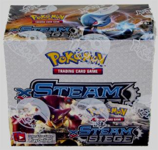 Pokemon XY Steam Seige Booster Box