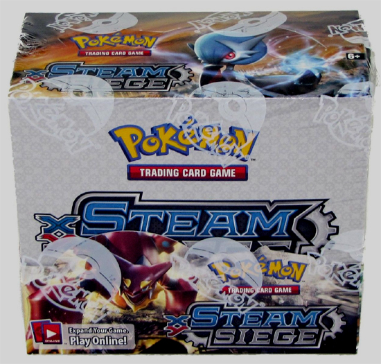 Pokemon XY Steam Seige Booster Box