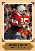 Archie Griffin 2001 Fleer Ultra College Greats Preview #12 Football Card