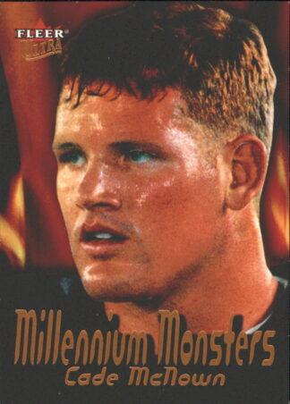 Cade McNown 2000 Fleer Millennium Monsters #9 Football Card