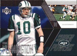 Chad Pennington 2003 Upper Deck Super Powers #SP-10 Football Card