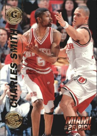 Charles Smith 1997 Press Pass Double Threat 25 Basketball Card