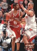 Charles Smith 1997 Press Pass Double Threat Silver #25 Basketball Card