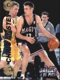 Chris Anstey 1997 Press Pass Double Threat #18 Basketball Card