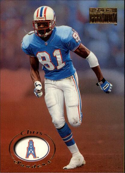 Chris Sanders 1996 Skybox Premium #70 Football Card