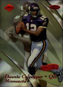 Daunte Culpepper 1999 Collectors Edge Masters HoloSilver Card #106 /3500
