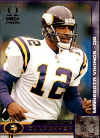 Daunte Culpepper 2000 Pacific Omega #79 Football Card