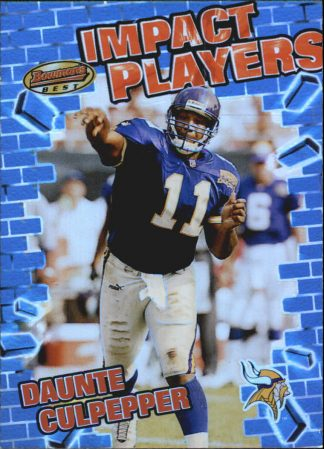 Daunte Culpepper 2001 Bowmans Best Impact Players #IP10