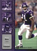 Daunte Culpepper Randy Moss 2002 UD Synchronicity #SY8 Football Card
