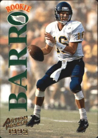 Dave Barr 1995 Action Packed Rookie #104 Football Card