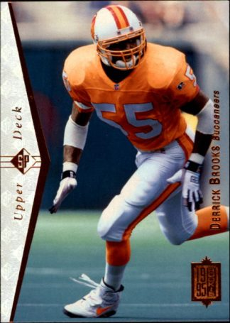 Derrick Brooks 1995 Upper Deck #103 Rookie Card