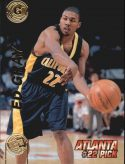 Ed Gray 1997 Press Pass Double Threat #22 Basketball Card