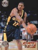 Ed Gray 1997 Press Pass Double Threat Silver #22 Basketball Card