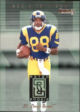 Eddie Kennison 1995 Rated Rookies #10 Football Card