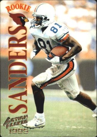 Frank Sanders 1995 Pinnacle Action Packed Rookie #117 Football Card