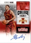 Georges Niang 2016 Panini Contenders Draft Ticket Rookie Autograph #157