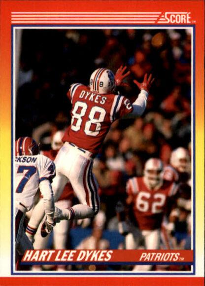 Hart Lee Dykes 1990 Score #277 Football Card