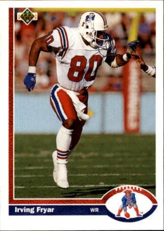 Irving Fryar 1991 Upper Deck #270 Football Card