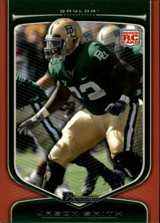 Jason Smith 2009 Draft Picks Bowman RC Orange #119 Football Card