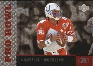 Jim Harbaugh 1996 Upper Deck Pro Bowl #PB11 Football Card