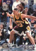 John Thomas 1997 Press Pass Double Threat Silver #24 Basketball Card