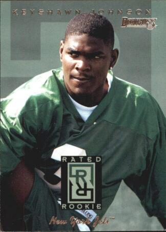 Keyshawn Johnson1996 Donruss Rookie Card #1