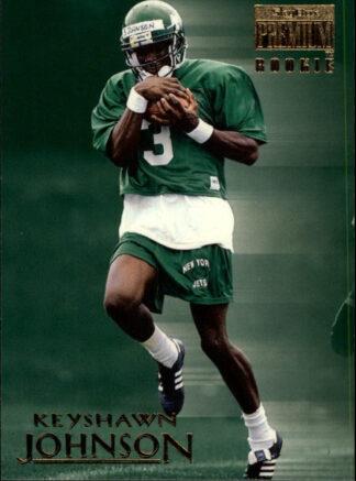 Keyshawn Johnson1996 Fleer Skybox Premium #203 Rookie Card