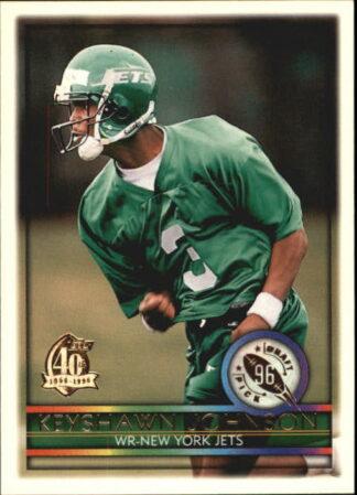 Keyshawn Johnson 1996 Topps Draft Pick Rookie Card #430