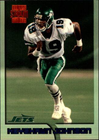 Keyshawn Johnson 1996 Topps Stadium Club Rookie Card #360