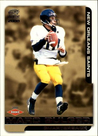 Marc Bulger 2000 Pacific Paramount Rookie #146 Football Card