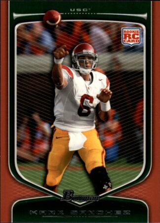 Mark Sanchez 2009 Draft Picks Bowman RC Orange #190 Football Card