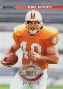 Mike Alstott 1996 Donruss Rookie Card #208