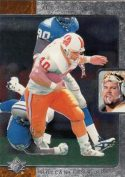 Mike Alstott 1996-Upper Deck SP Rookie Card #126