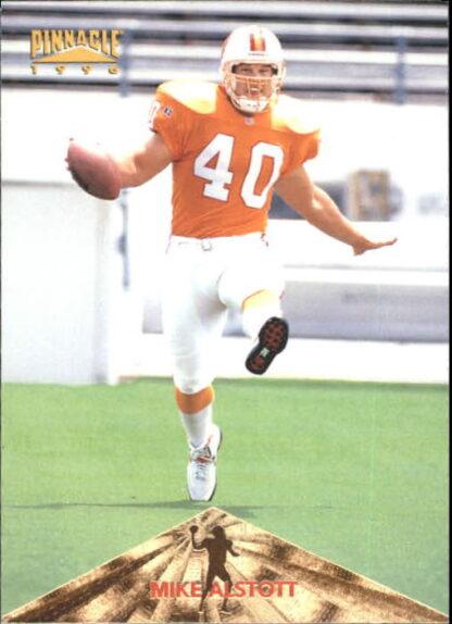 Mike Alstott Rookie 1996 Pinnacle #158 Football Card