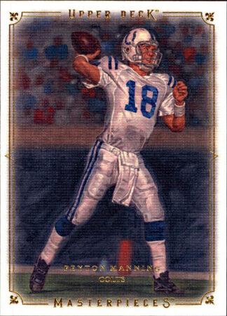 Payton Manning 2008 Upper Deck Masterpieces #68