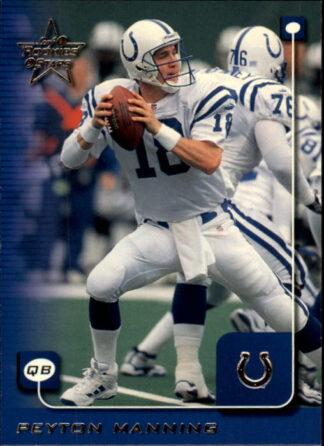 Peyton Manning 1999 Dunruss Rookies & Stars #86 Football Card