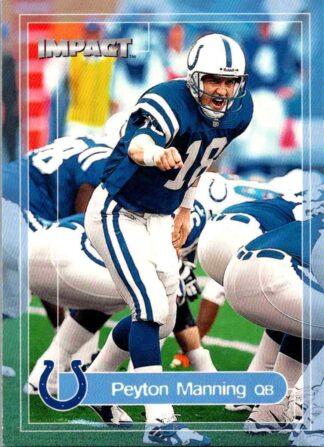 Peyton Manning 2000 Skybox Impact #100 Football Card