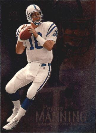 Peyton Manning 2000 Skybox Molten Metal #34 Football Card