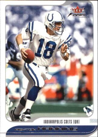 Peyton Manning 2001 Fleer Focus #39 Football Card