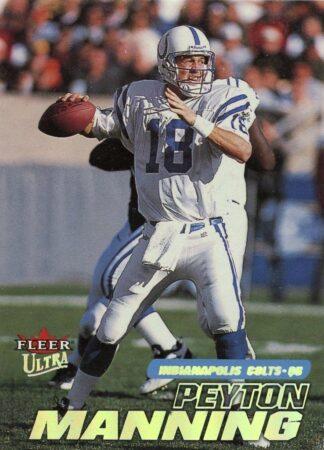 Peyton Manning 2001 Fleer Ultra #228 Football Card