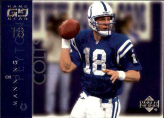 Peyton Manning 2001 Upper Deck Game Gear #34