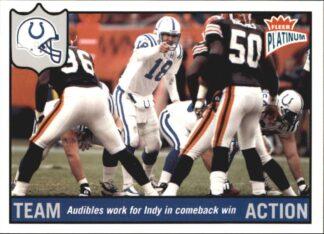 Peyton Manning 2003 Fleer Platinum #192 Football Card