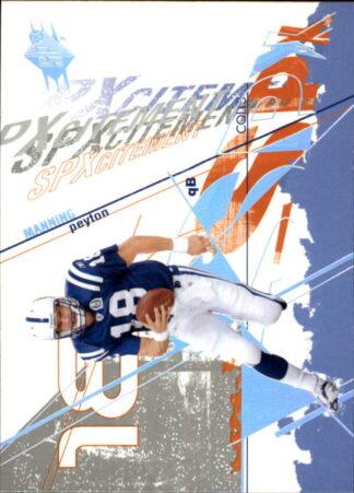 Peyton Manning 2003 SPx-#109 Football Card