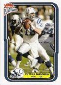 Peyton Manning 2004 Fleer Platinum #105 Football Card