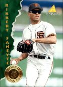 Rikkert Fanette 1995 Pinnacle Rookie Card #138 Baseball Card