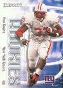 Ron Dayne 2000 Fleer Impact Rookie #67 Football Card