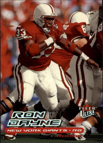 Ron Dayne 2000 Fleer Ultra #222 Rookie Card