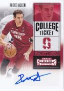 Rosco Allen 2016 Panini Contenders Draft Ticket Rookie Autograph #153