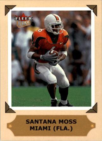 Santana Moss 2001 Ultra College Greats Previews #23