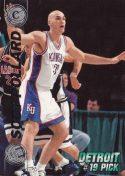 Scott Pollard 1997 Press Pass Double Threat Silver #19 Basketball Card